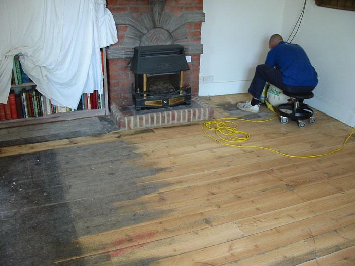 Exeter floor restoration for Wood floor repair specialist
