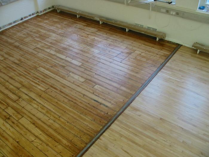 Wood floor refurbishment london for Commercial wood flooring